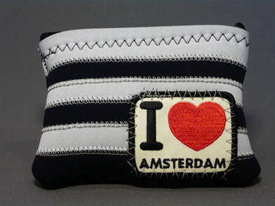 AMSTERDAM POUCH L/Sしましま