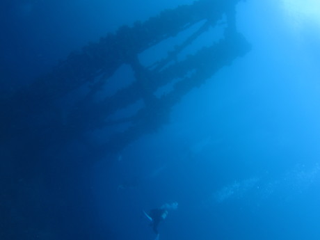 沈船ポイント「石廊」