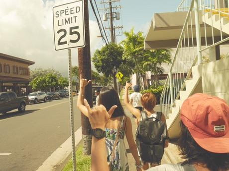 ハワイでの写真